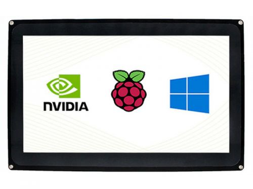 """Raspberry Pi 10.1"""" HDMI Capacitive Touch LCD (H) with Case 1024x600"""