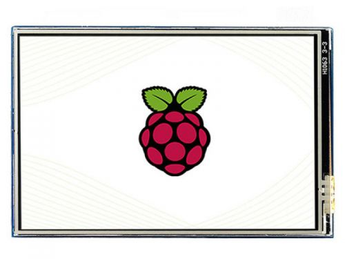 "Raspberry Pi 3.5"" LCD (B) IPS 480x320 Resistive Touch"