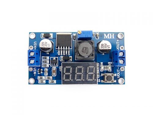 DC-DC Step Down Buck Converter with Display 3.2 - 40V to 1.25 - 35V 10W (3A) LM2596