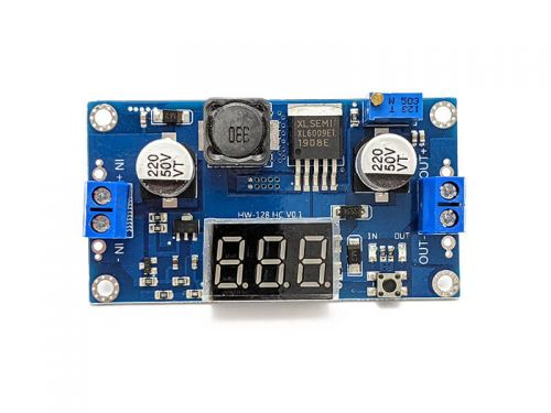 DC-DC Step Up Buck Converter with Display 5 - 32V to 5 - 35V 10W (3A) XL6009